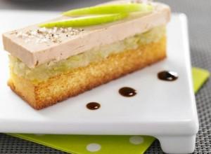 Foie gras aux pommes Granny Smith